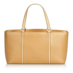 Burberry Handbag beige leather