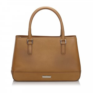 Burberry Handbag beige leather