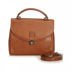 Burberry Sacoche marron clair cuir