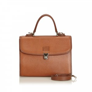 Burberry Cartella marrone Pelle