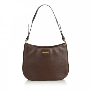 Burberry Shoulder Bag brown leather