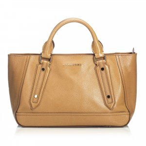Burberry Leather Somerford Satchel