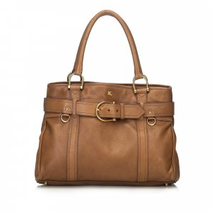 Burberry Tote light brown leather