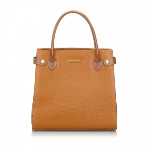 Burberry Tote brown leather