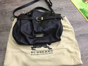 Burberry Ledertasche mit Gurt, dunkelbraun wie neu! Original!