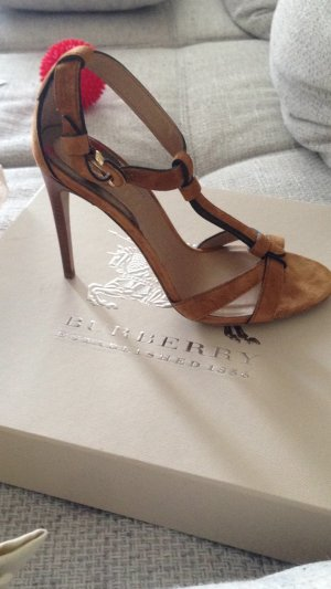 Burberry High-Heeled Sandals multicolored