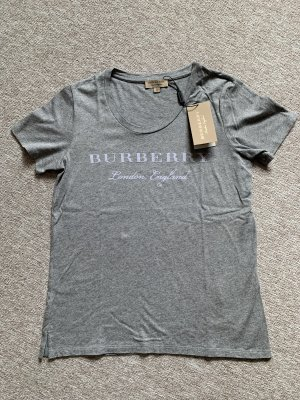 Burberry T-Shirt grey-white
