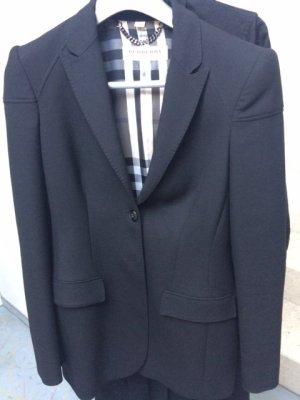 BURBERRY LONDON Blazer schwarz mit Futter in Check