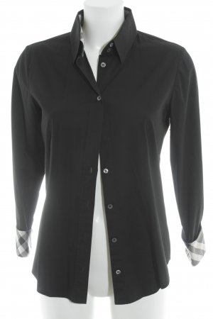 Burberry London Hemd-Bluse schwarz Business-Look