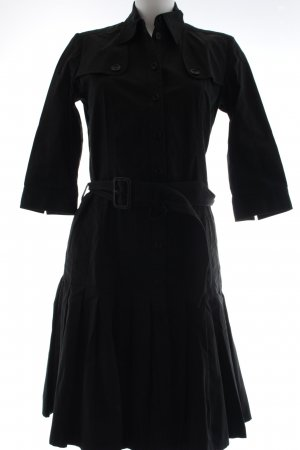 Burberry London Hemdblusenkleid schwarz Casual-Look
