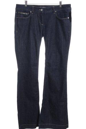 Burberry London Jeansschlaghose dunkelblau Casual-Look