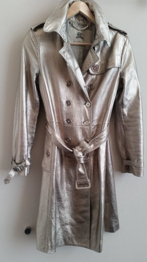 BURBERRY LONDON Leder Trench Gold Gr. 40