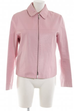 Burberry London Lederjacke pink Glanz-Optik