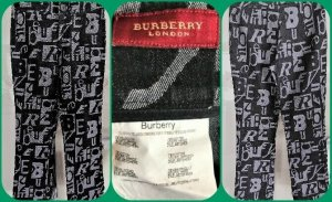Burberry London Limited Edition Jeans,Hose Schwarz/Grau Gr 36 Np.219€