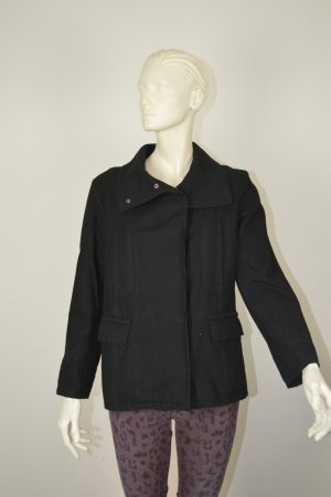 Burberry London Mantel / Jacke Größe M 38/40 UK 12 schwarz Wolle