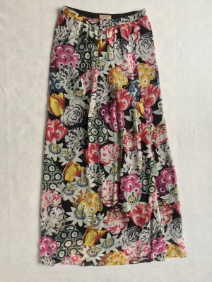 Burberry London, Maxi-Rock, floral, 38 (It. 42), Seide, neu, € 650,-
