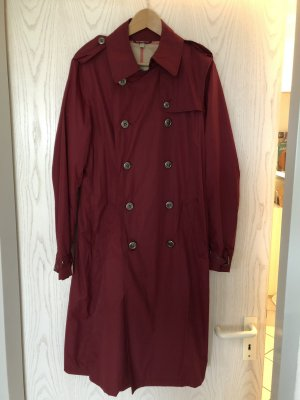 Burberry London Heavy Raincoat bordeaux