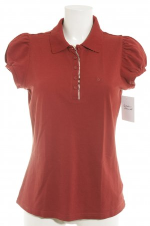 Burberry London Polo-Shirt mehrfarbig klassischer Stil