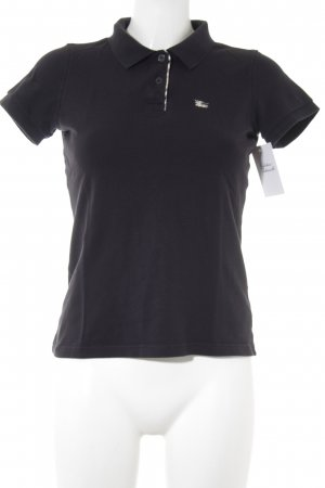 Burberry London Polo-Shirt schwarz Casual-Look