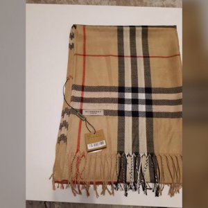 Burberry London Cashmere Scarf multicolored cotton