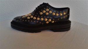 Burberry London, Schuhe, Leder, schwarz, EU 36, neu, RRP € 1.000,-