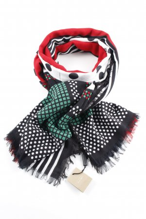 "Burberry London Summer Scarf ""GG Web Wool Stole Black"""