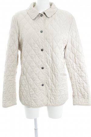 Burberry London Steppjacke beige-creme Karomuster Brit-Look