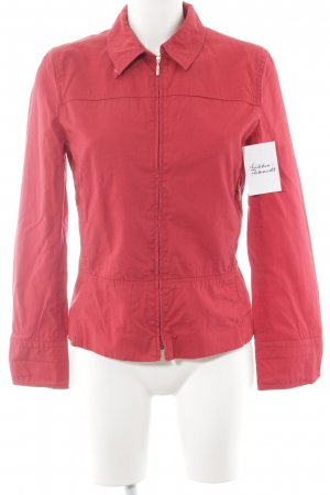 Burberry London Steppjacke rot Steppmuster schlichter Stil