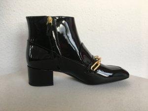 Burberry London, Stiefeletten, schwarz, Lackleder, EUR 38,5, neu