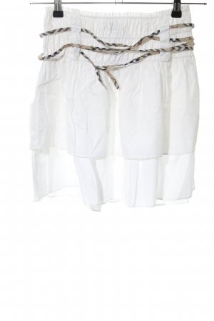 Burberry London Stretch Skirt white casual look