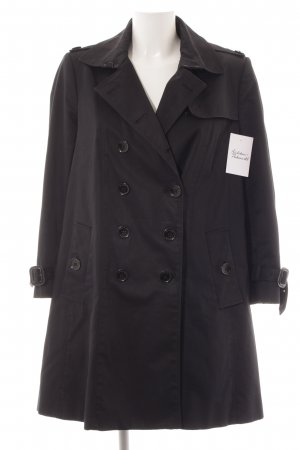 Burberry London Trench blu scuro stile classico