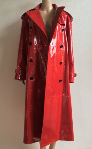 Burberry London, Trenchcoat, parade red, 40 (It. 44/US 10/UK 12), Leder, neu, € 3.100,-
