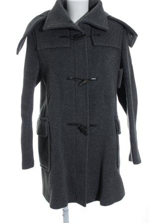 Burberry London Wollmantel grau Casual-Look