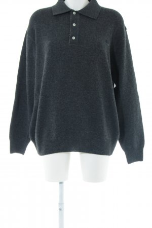 Burberry London Wollpullover schwarz Casual-Look