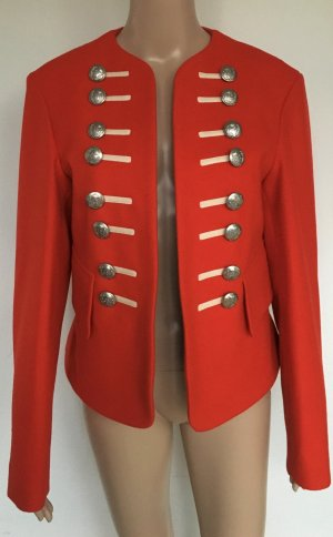 Burberry London, Wool Military Jacket, 42 (It. 46), orange-red, Wolle, neu, € 1.700,-
