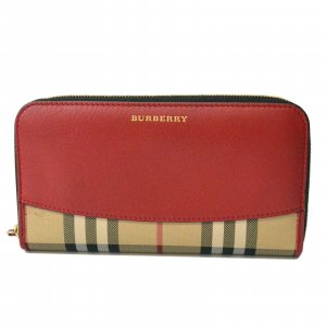 Burberry Wallet white leather