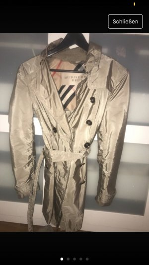 Burberry Trench Coat gold-colored-black