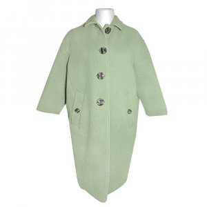 Burberry Wool Coat lime-green cashmere
