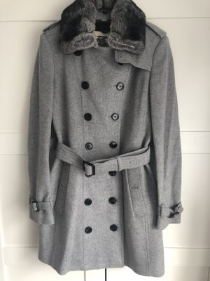 Burberry London Wool Coat multicolored