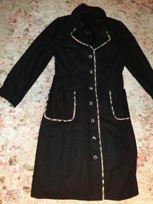 Burberry Wool Coat black cotton