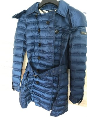 Burberry Mantel in Farbe Blau