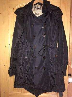 * Burberry * Mantel/leichte Jacke dunkelblau Gr.38 TOP & EDEL !!!