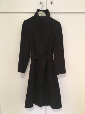 Burberry Wool Coat dark brown