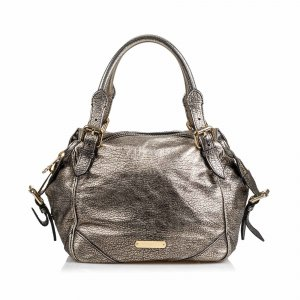 Burberry Metallic Leather Oakford
