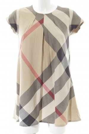Burberry Minikleid abstraktes Muster Casual-Look
