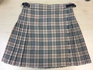 Burberry Plaid Skirt multicolored cotton