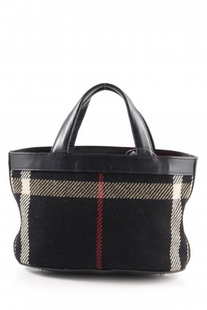 Burberry Mini Bag check pattern business style