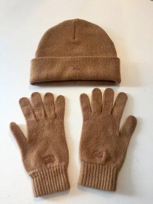 Burberry Mütze und Handschuhe