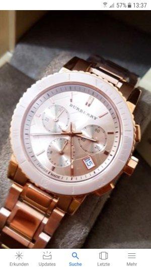 Burberry Horloge roségoud