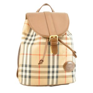 Burberry Backpack brown textile fiber